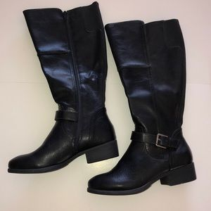NWOT Croft and Barrow Tall Black Boots